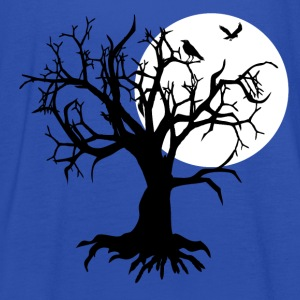 scary tree raven T-Shirts - Women's Tank Top by Bella