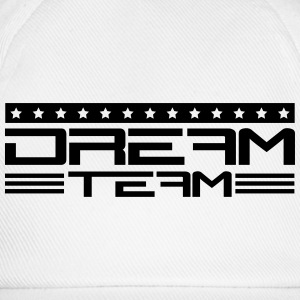 Text writing friends couple couples dream team T-Shirts - Baseball Cap