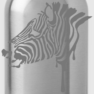 Zebra T-Shirts - Water Bottle