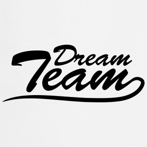 Text logo lettering couple dream team T-Shirts - Cooking Apron