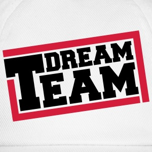 Text logo design friends couple couples dream team T-Shirts - Baseball Cap