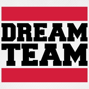 Text design logo couple dream team logo T-Shirts - Baseball Cap