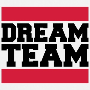 Text design logo couple dream team logo T-Shirts - Cooking Apron