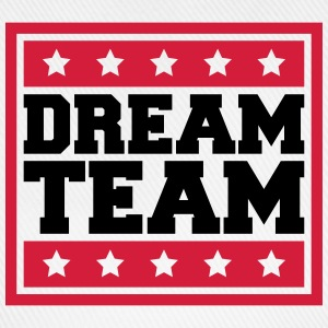 Text Box Sterne Logo Design Paar Dream Team T-Shirts - Baseball Cap