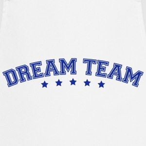 Text arch design friends couple couple dream team T-Shirts - Cooking Apron