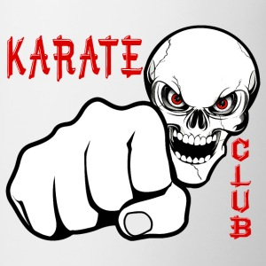 karate fist skull Hoodies & Sweatshirts - Mug