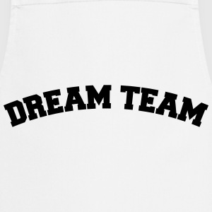 Text arch design friends couple couples dream team T-Shirts - Cooking Apron