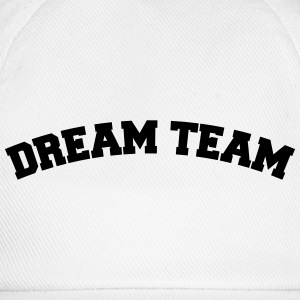 Text Bogen Design Freunde Paar Pärchen Dream Team T-Shirts - Baseballkappe
