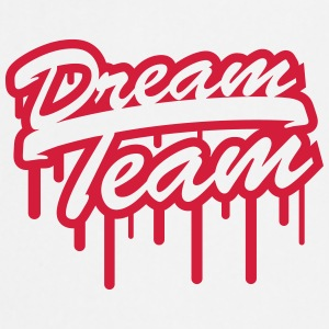 Stamp Graffiti Logo Design Dream Team Freunde Few T-Shirts - Cooking Apron