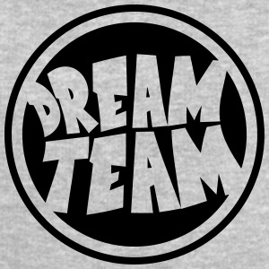 Circle round logo stamp graffiti dream team's frie T-Shirts - Men's Sweatshirt by Stanley & Stella