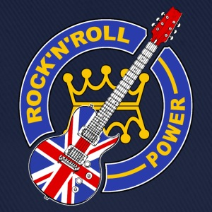 uk rock'n'roll power 06 Sweat-shirts - Casquette classique