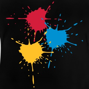 3 basic colors - Splash - V3 Long Sleeve Shirts - Baby T-Shirt