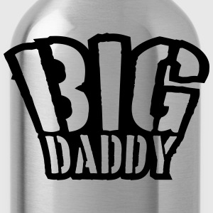 Stamp Big Daddy father's day Dad father hero T-Shirts - Water Bottle
