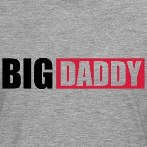 Logo Big Daddy father hero dad father's day T-Shirts - Men's Premium Longsleeve Shirt