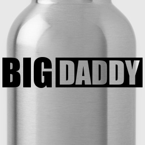 Logo Big Daddy father hero dad father's day T-Shirts - Water Bottle