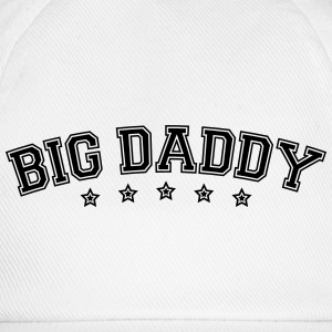 Fars dag logo Big Daddy hero far Vater T-shirts - Baseballkasket