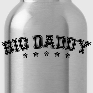 Fars dag logo Big Daddy hero far Vater T-shirts - Drikkeflaske