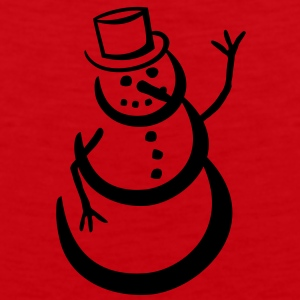 snowman T-Shirts - Men's Premium Tank Top