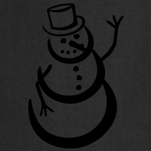 snowman T-Shirts - Cooking Apron