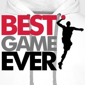 Best game ever - handball T-skjorter - Premium hettegenser for menn