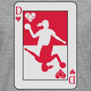 Handball Poker Card T-Shirts - Men's Premium Longsleeve Shirt