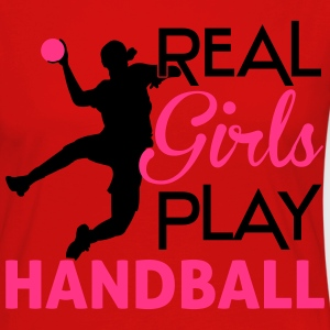 Real Girls play Handball T-Shirts - Women's Premium Longsleeve Shirt