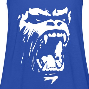 Gorilla roar T-Shirts - Women's Tank Top by Bella