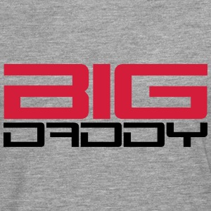 Big Daddy design dad father's day hero father T-Shirts - Men's Premium Longsleeve Shirt