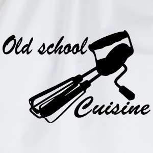 Old School Cuisine T-shirts - Gymtas