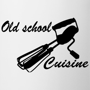 Old School Cuisine Camisetas - Taza