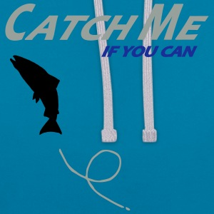 catch_me_if_you_can T-Shirts - Kontrast-Hoodie