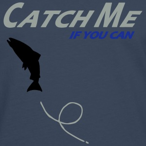 catch_me_if_you_can T-Shirts - Männer Premium Langarmshirt