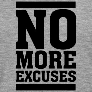 No More Excuses Tee shirts - T-shirt manches longues Premium Homme