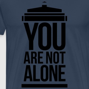 You Are Not Alone Langarmshirts - Männer Premium T-Shirt