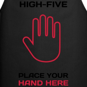 Funny Idea - High Five T-Shirts for Parties T-Shirts - Kochschürze