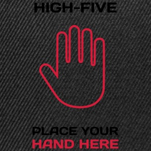 Funny Idea - High Five T-Shirts for Parties T-Shirts - Snapback Cap