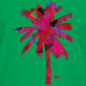 Pink palmtree Bags & Backpacks - Men's Ringer Shirt
