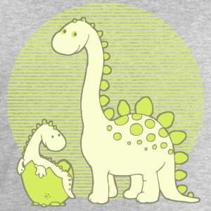 Dinosaur Mom with Hatching Egg Shirts - Men's Sweatshirt by Stanley & Stella