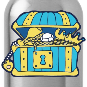 Open Treasure Chest Shirts - Water Bottle