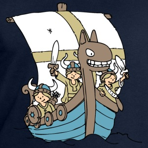 Viking Boat front T-Shirts - Men's Sweatshirt by Stanley & Stella
