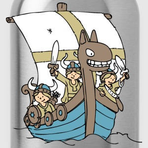 Viking Boat front Shirts - Water Bottle