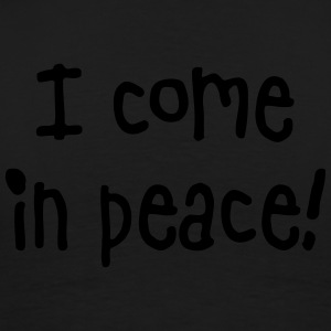 i come in peace Pullover & Hoodies - Männer Premium T-Shirt