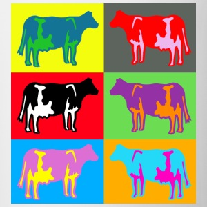 6 vache de couleur multicolore Tee shirts - Tasse