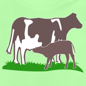 cow and calf brown Shirts - Baby T-Shirt