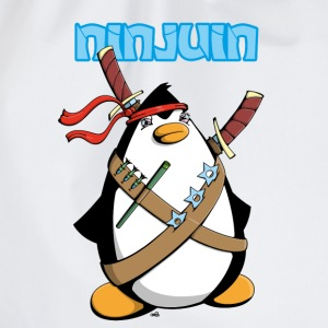 Ninjuin - The Ninja Penguin T-shirts - Gymnastikpåse