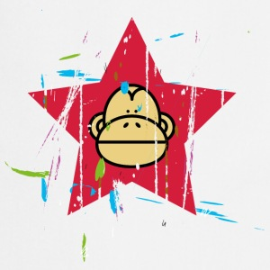 Monkey Red Star - Monkey Revolution T-skjorter - Kokkeforkle