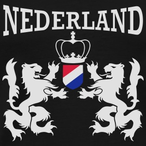Nederland emblem Bags & Backpacks - Men's Premium T-Shirt