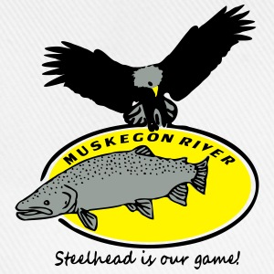 steelhead is our game T-Shirts - Baseballkappe
