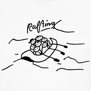 Rafting in inflatable boat T-Shirts - Men's Premium Longsleeve Shirt
