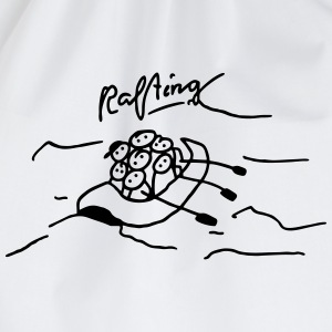 Rafting in inflatable boat T-Shirts - Drawstring Bag